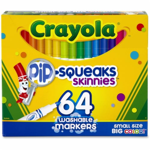 Crayola Pip-Squeaks Skinny Washable Markers Perspective: front