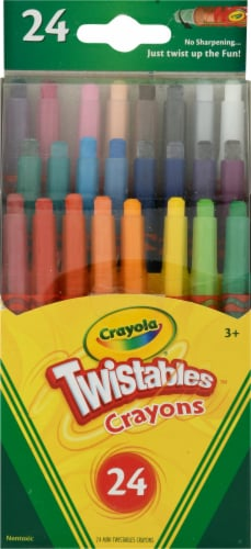 Crayola Twistables Mini Crayons Perspective: front