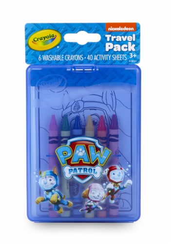 Crayola Paw Patrol Traveling Activity Coloring Kit Perspective: front