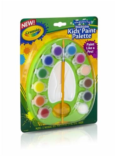 Crayola Kids' Paint Palette Set Perspective: front