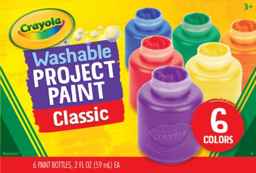 Crayola Washable Classic Project Paint Perspective: front