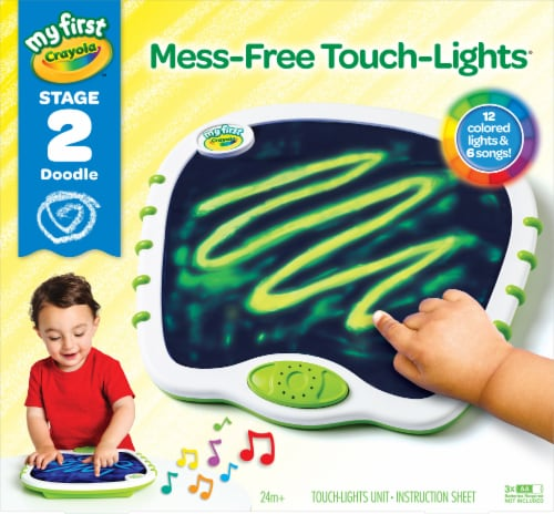 Crayola My First Mess-Free Touch-Lights Perspective: front