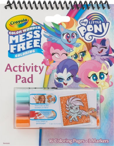 Crayola My Little Pony Color Wonder Mess Free Activity Pad Perspective: front
