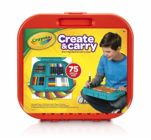 Crayola Create & Carry 2-in-1 Lap Desk & Carry Case Perspective: front