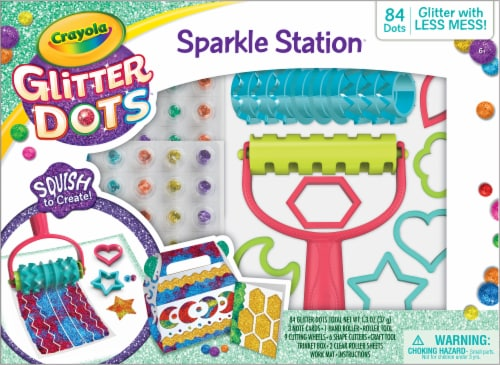 Crayola® Glitter Dots Sparkle Station Perspective: front