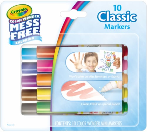 Crayola Color Wonder Mini Markers Perspective: front