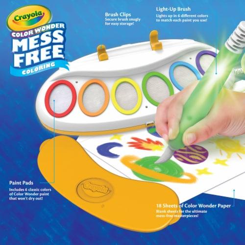 Crayola Color Wonder Magic Light Brush Set Perspective: front