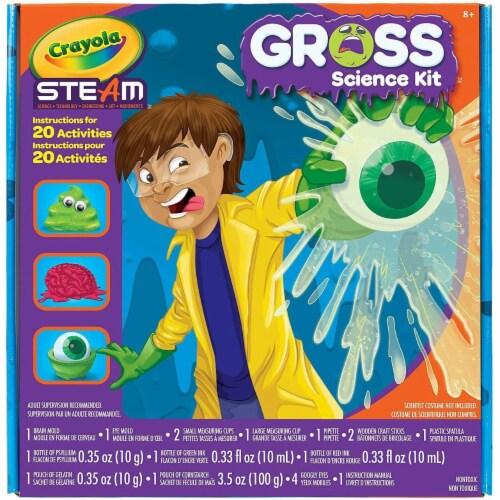 Crayola Gross Science Lab Kit Perspective: front