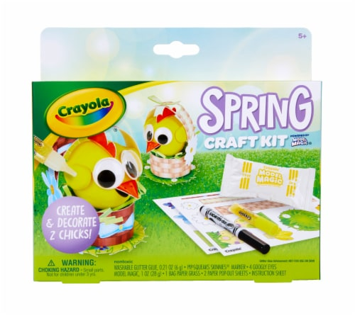 Crayola Model Magic Spring Craft Kit Perspective: front