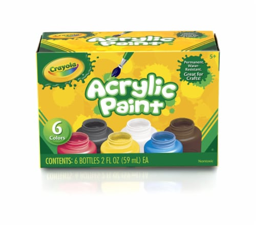 Crayola Acrylic Paint Set Perspective: front