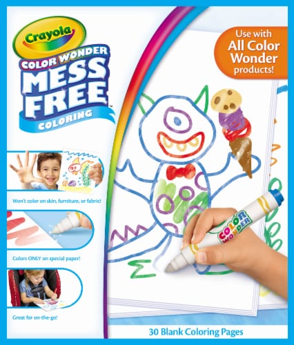 Crayola Color Wonder Mess Free Coloring Pad Perspective: front
