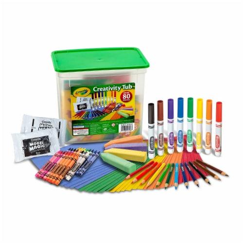 Crayola Creativity Tub- Perspective: front