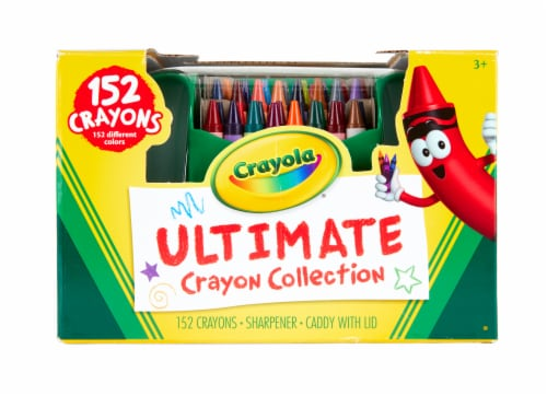 Crayola Ultimate Crayon Collection Art Set Perspective: front