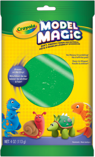 Crayola Model Magic Modeling Material - Green Perspective: front