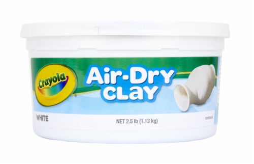 Crayola Air-Dry Clay - White Perspective: front