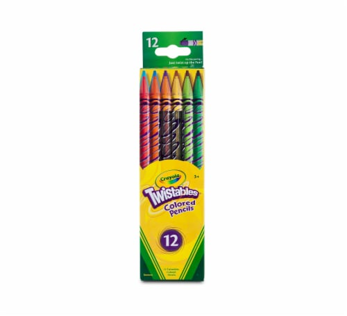 Crayola Twistables Colored Pencils Perspective: front