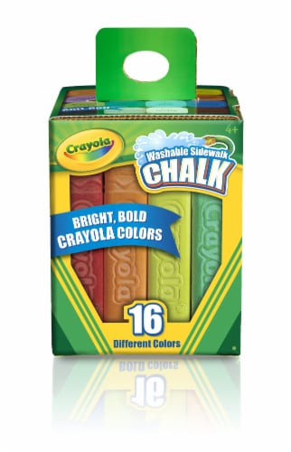 Crayola Washable Sidewalk Chalk Perspective: front