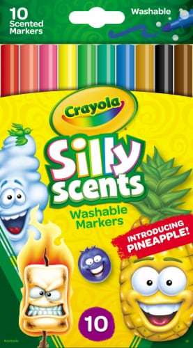 Crayola® Silly Scents Slim Markers Perspective: front