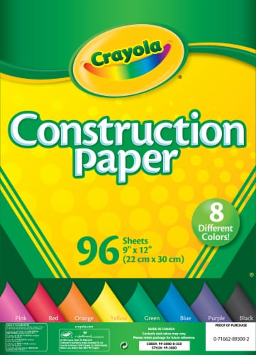 Crayola Construction Paper Perspective: front