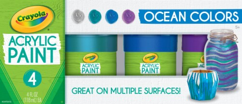 Crayola Ocean Colors Acrylic Paint Kit Perspective: front