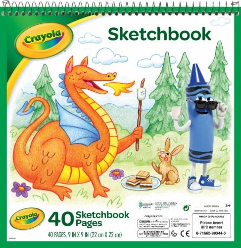 Crayola Sketchbook Perspective: front