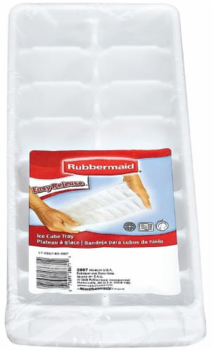 Rubbermaid Easy Release Ice Cube Tray - White Perspective: front