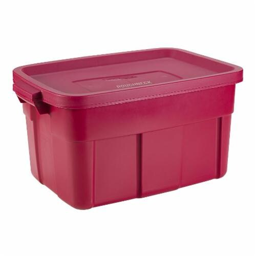 Fred Meyer Rubbermaid Roughneck Storage Tote with Lid Auburn