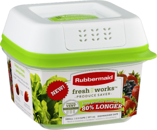 Rubbermaid® Fresh Works Produce Saver Storage Container Perspective: front