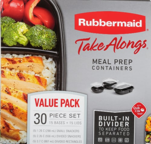 Rubbermaid Take Alongs Meal Prep Containers Perspective: front