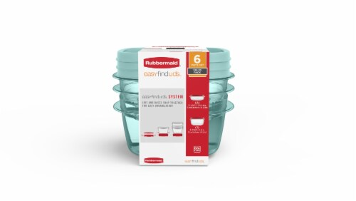 Rubbermaid Food Storage Containers Perspective: front