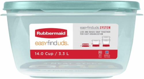 Rubbermaid Food Storage Container Perspective: front