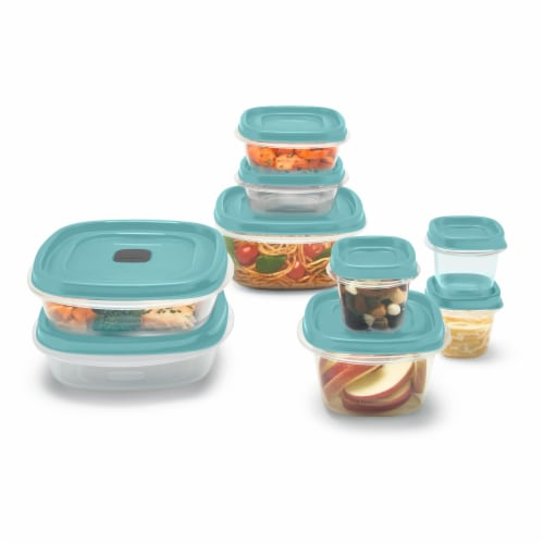 Rubbermaid Easy Find Lids Food Storage Container Set Perspective: front