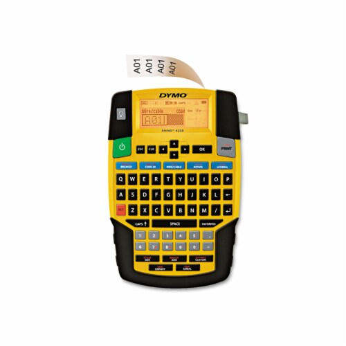 Dymo Rhino Electronic Label Maker 1801611 Perspective: front