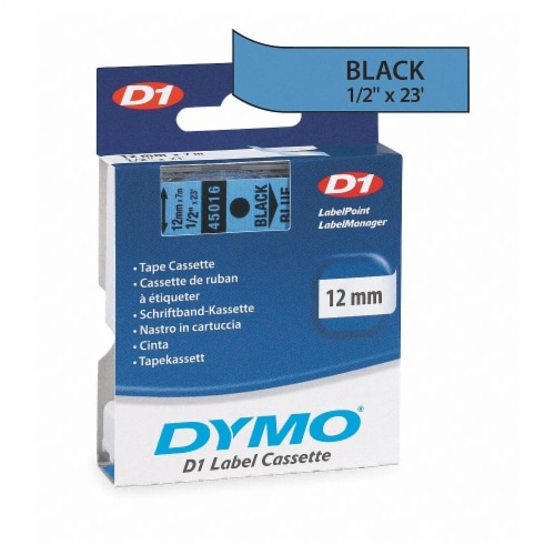 """Dymo Label Tape Cartridge,23 ft. L,1/2"""" W HAWA 45016 Perspective: front"""