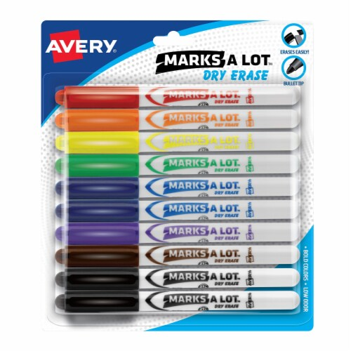 Avery Marks A Lot™ Pen-Style Dry Erase Markers Perspective: front