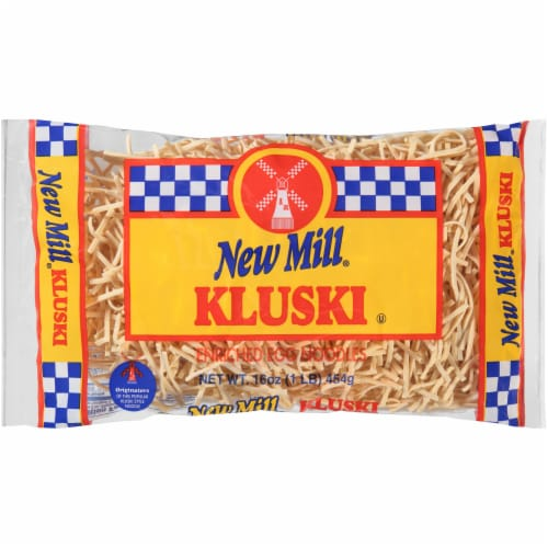 New Mill Kluski Egg Noodles Perspective: front