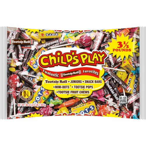Tootsie Roll Child's Play Funtastic Favorites Assortment Perspective: front
