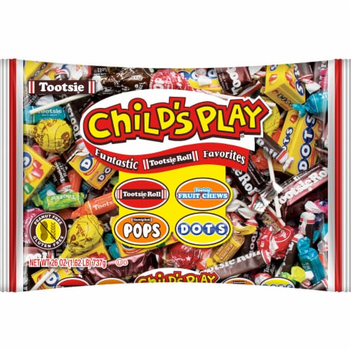 Tootsie Child's Play Funtastic Favorites Candy Assorted Perspective: front