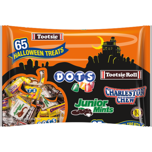 Tootsie Roll Candy Variety Bag Perspective: front