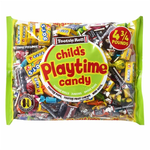 Tootsie Child's Play Candy Variety Bag Perspective: front