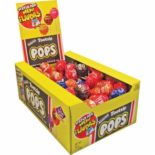 Tootsie Pop Assorted Lollipops Perspective: front