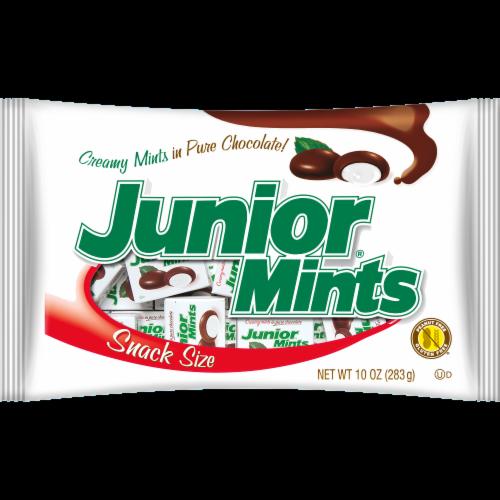 Junior Mint Snack Bag Perspective: front