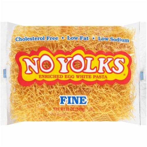 No Yolks Fine Egg Noodles Perspective: front