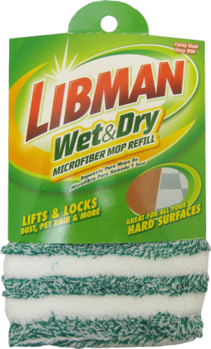 Libman® All-Purpose Microfiber Floor Mop Refill Perspective: front
