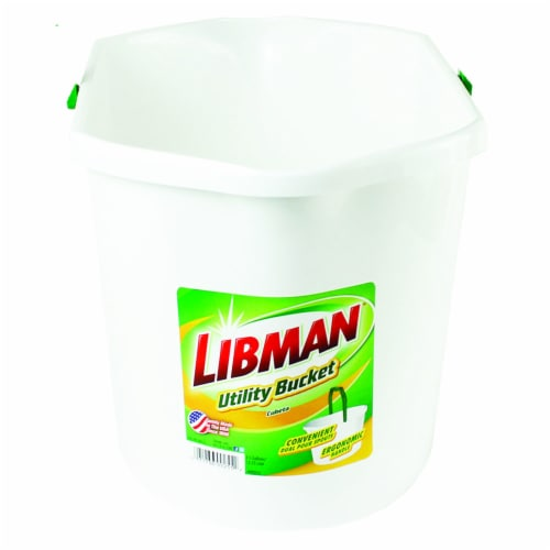 Libman® Utility Bucket - White Perspective: front