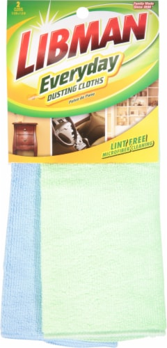 Pledge Libman® All Purpose Dust Cloths Perspective: front