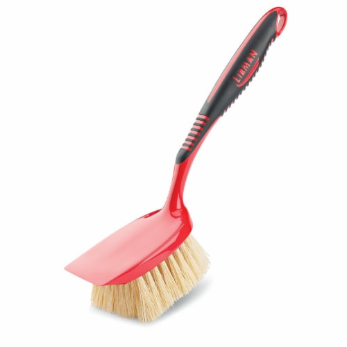 Libman® Scrub Brush - Red/Black Perspective: front