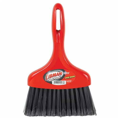 Libman® Whisk Broom - Red/Black Perspective: front