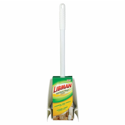 Libman® Toilet Brush & Plunger Combo Perspective: front