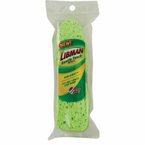 Libman® Cellulose Soap Dispensing Dish Wand Refill Perspective: front